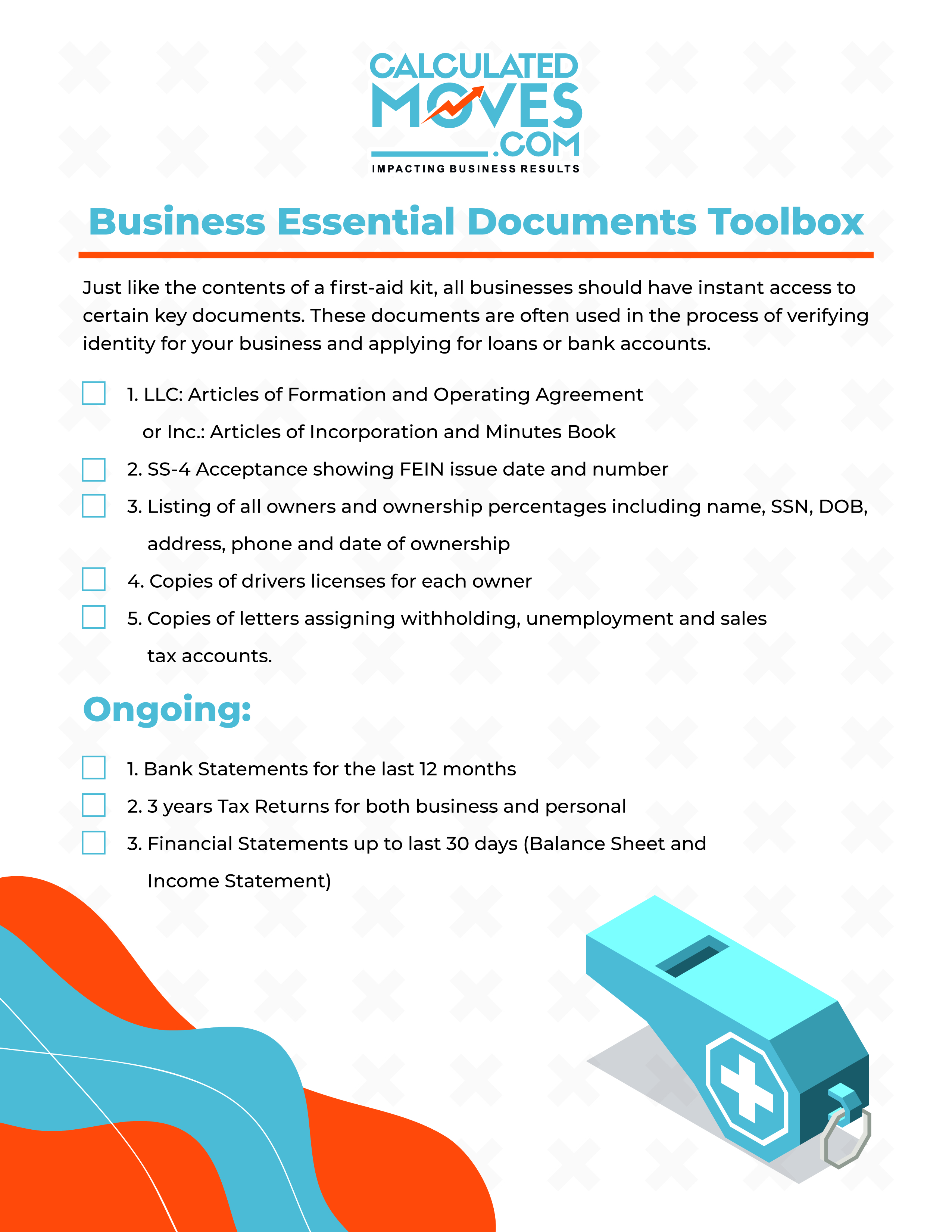 Business Essential Documents Toolbox