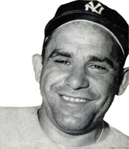 """""""Yogi"""" Berra - Public Domain"""